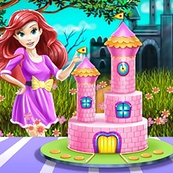 Princess Castle Cake Cooking